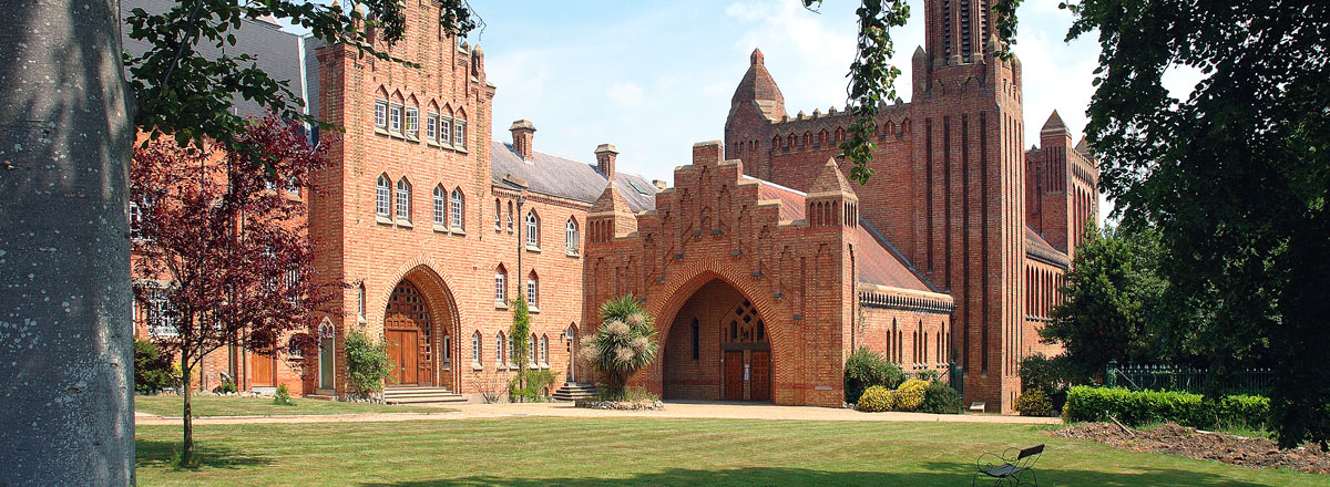 Quarr Abbey on Isle Of Wight